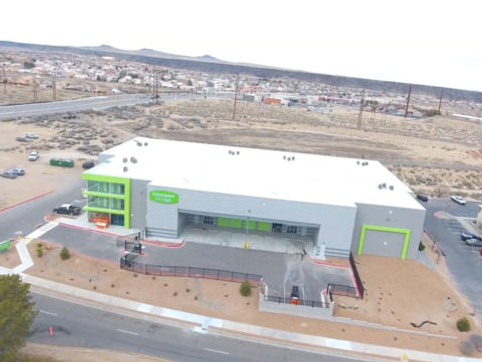 Extra Space Storage Ladera Construction Completion