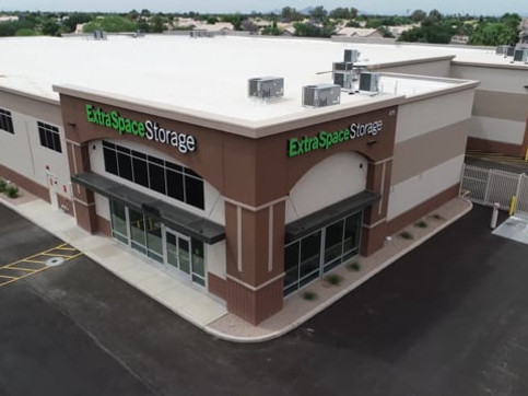 Extra Space Storage Gilbert & Warner Construction Completion