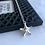 Thumbnail: Starfish - Sjøstjerne smykke i sølv