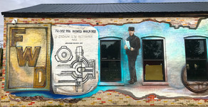 The Completed FWD Seagrave Mural