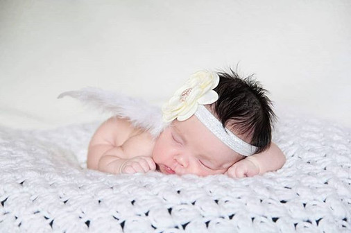 Sweet angel! #newbornphotography #babyph