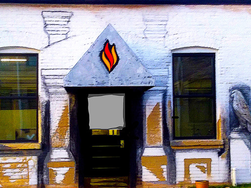 Mimicking Architectural Details with Paint - the FWD Seagrave Mural