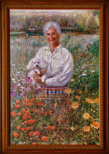 Lois Smith by Gotrock Lake