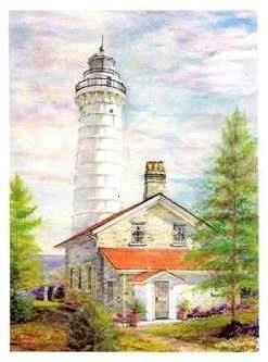 Cana Island Lighthouse, Ellison Bay