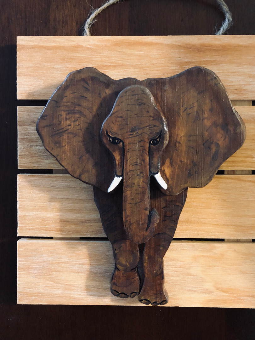 Elephant Layered Wood
