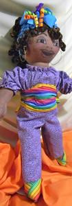 Carib Girl, Rainbow Sash