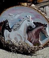 3 Wild Horses