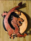 Dragon Moon, Layered Wood