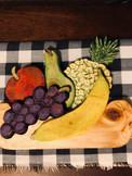 Fresh Fruit, Layered Wood