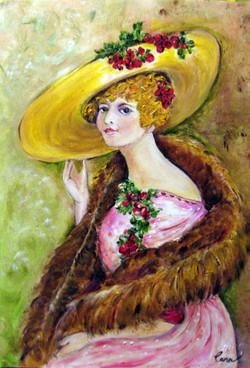 Elegant Lady - oil