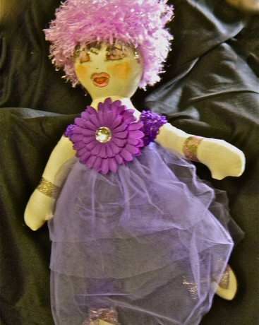 Lilac Party dress