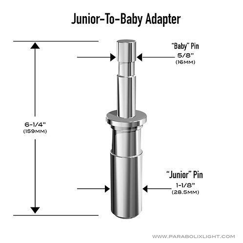 Junior-to-Baby Pin Adapter