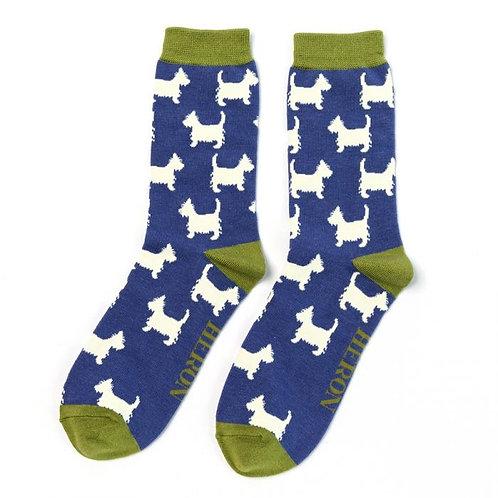 Men's Scottie Dog socks