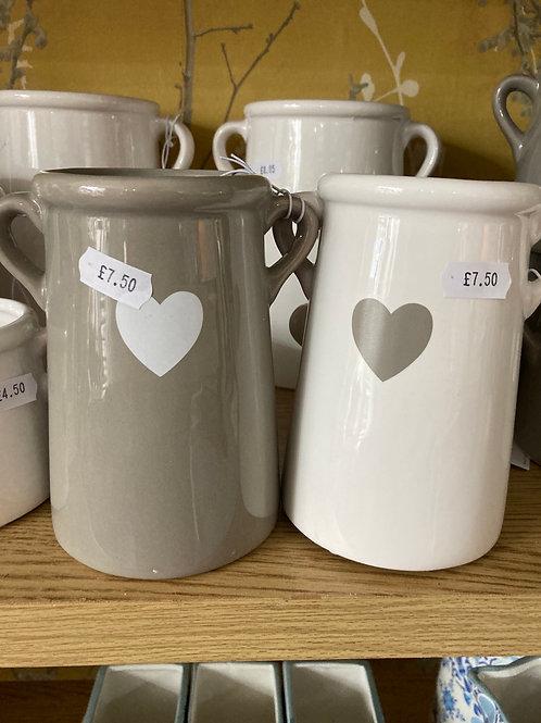 Ceramic 14cm vase