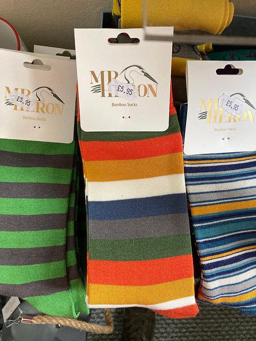 Men's stripey socks