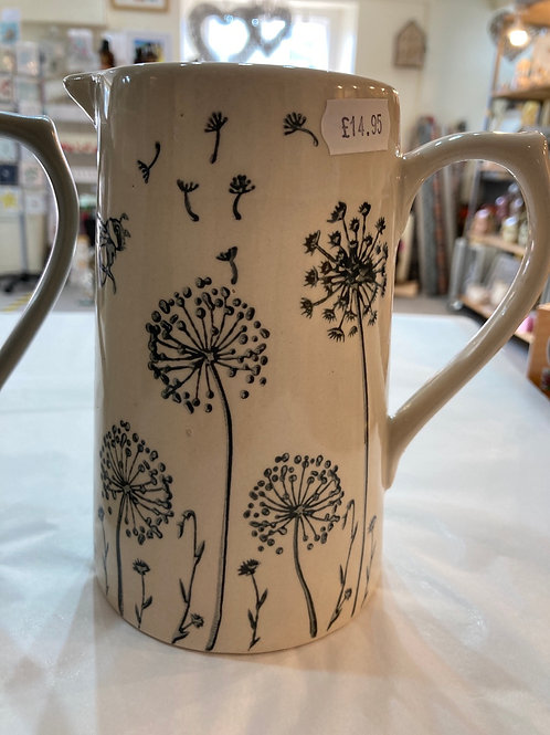 White Dandelion jug