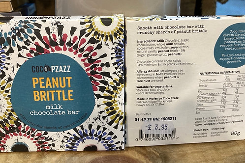 Peanut Brittle milk chocolate