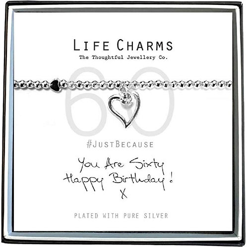 60th Birthday Bracelet