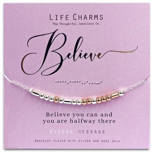 Believe Bracelet