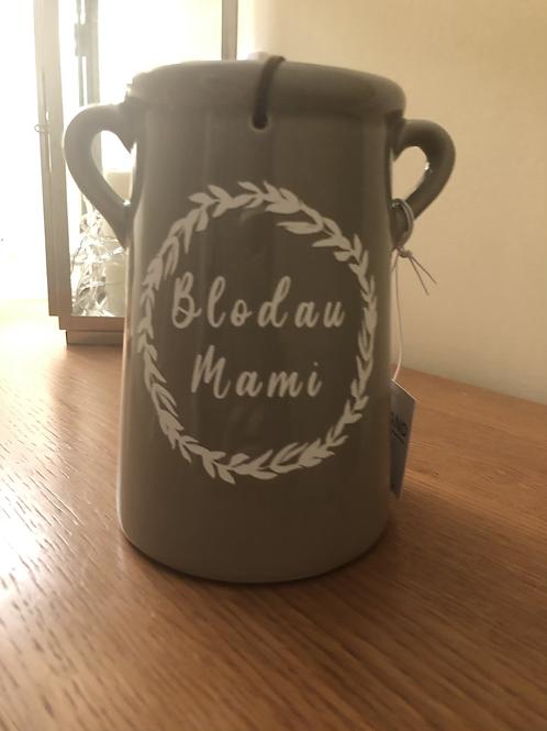 Blodau Mami Grey medium vase