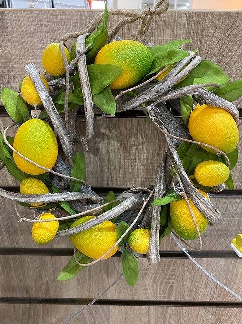 Lemon twig wreath 21cm