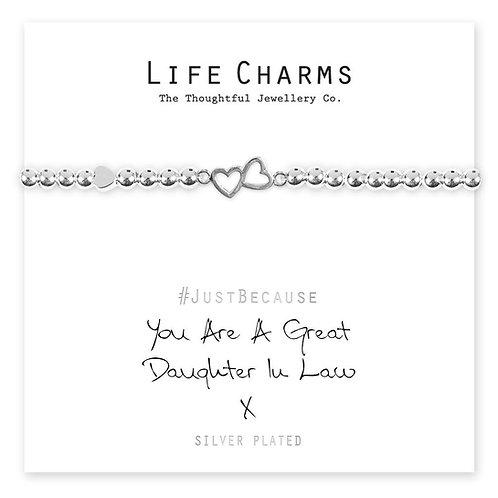 Great Daughter in Law Bracelet