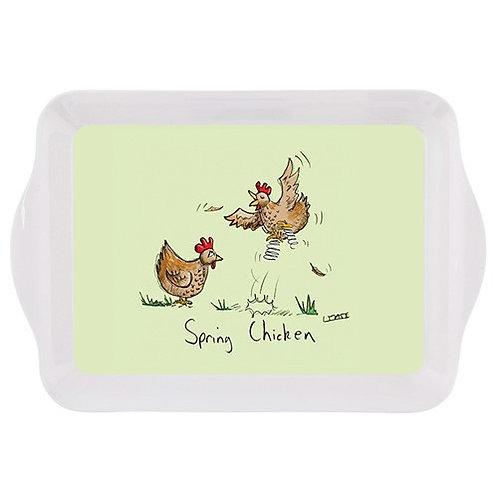 Spring chicken small tray