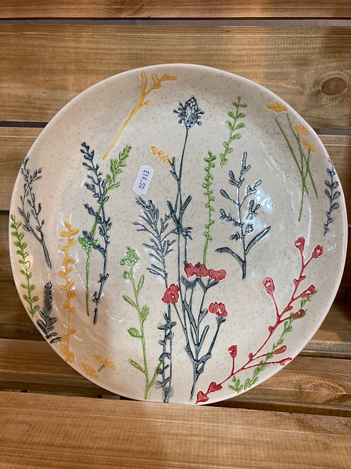 Meadow scene bowl