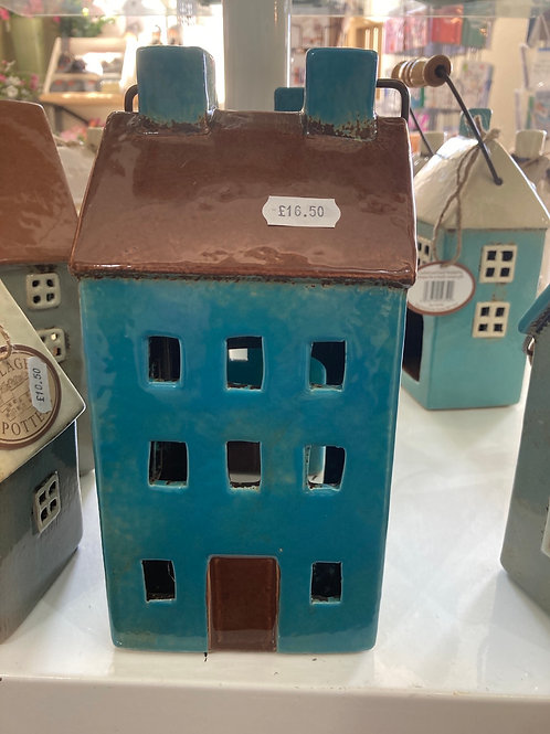 Pottery Teal house