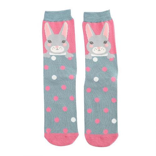 Pink Rabbit socks