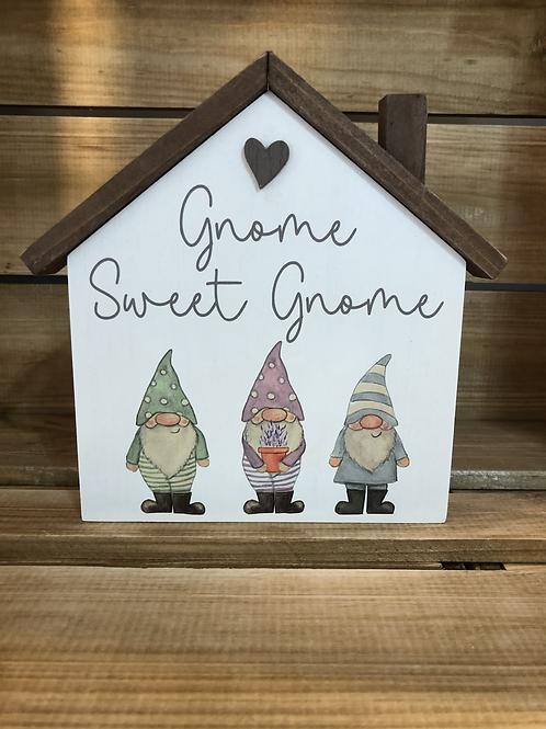 Gnome Sweet Gnome Plaque
