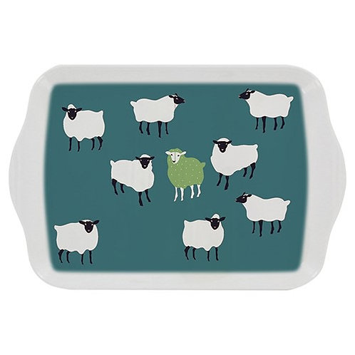 Sheep melamine small tray