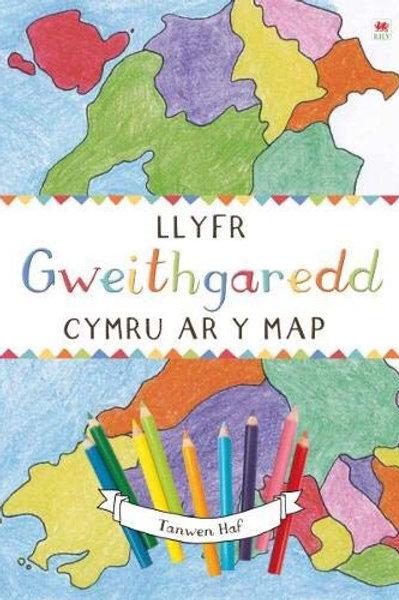 Llyfr Gweithgaredd Cymru ar y Map