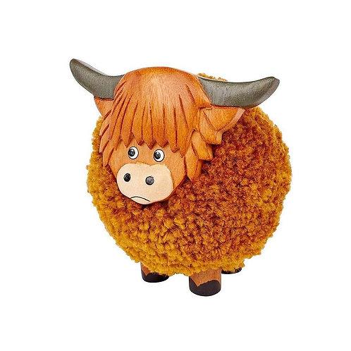 Little Pom Pom Hoghland cow