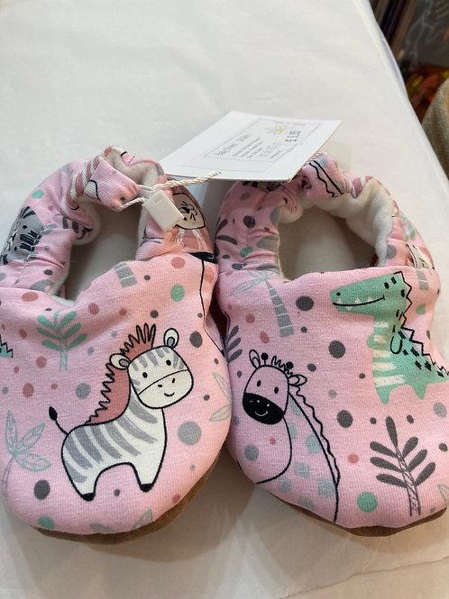 Pink Safari slippers