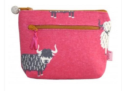 Highland cow purse