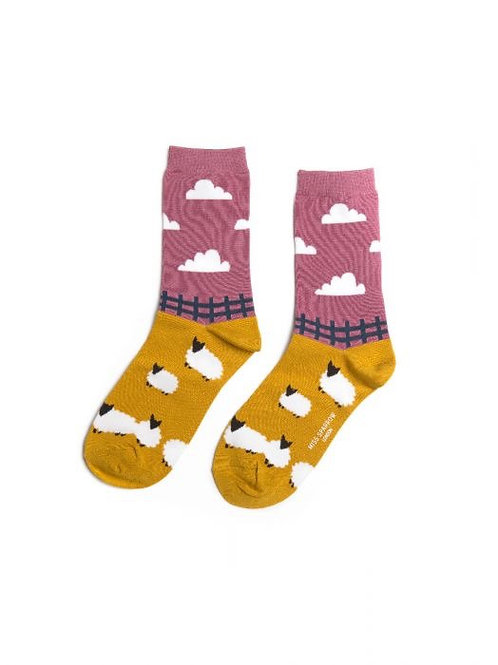 Sheep ladies socks