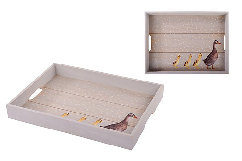 Duck Wooden Tray