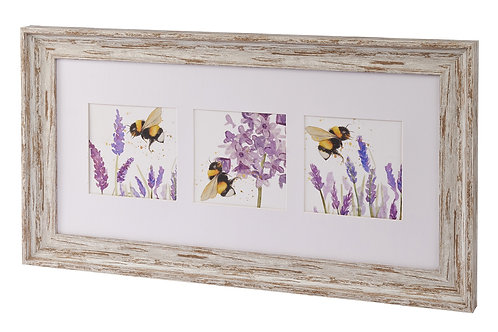 Bee framed picture