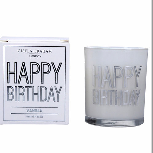 Scented boxed candle