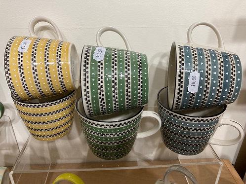 Fine spots mug
