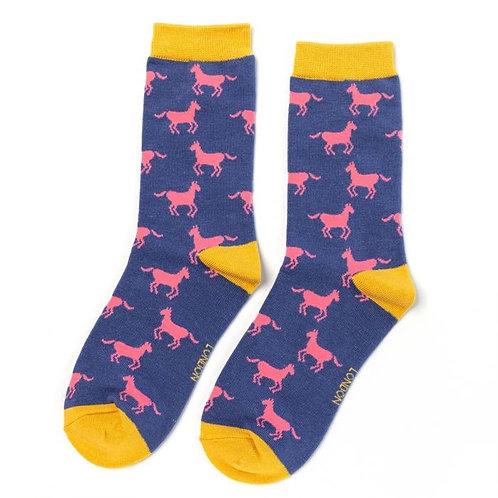 Ladies horse socks