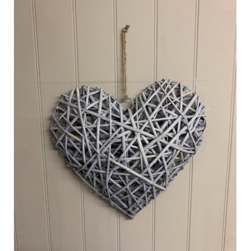 Wicker Heart 40cm