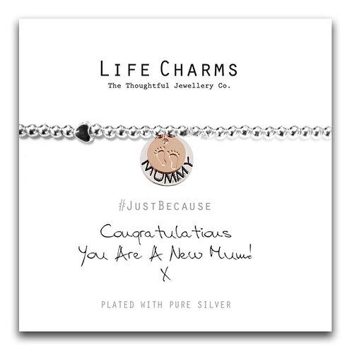 New Mum bracelet