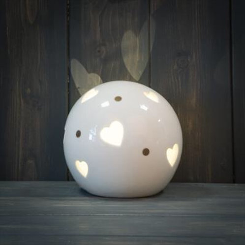Heart Globe - 12 cms