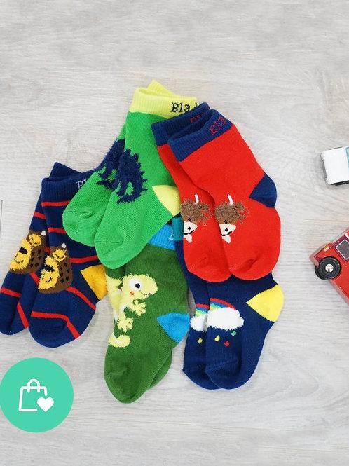 5 pairs Blade & Rose socks