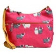 Highland cow sling bag