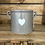 Thumbnail: 12cm grey plant pot