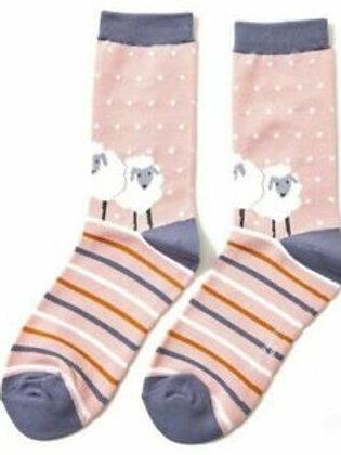 Sheep Friends Ladies Socks