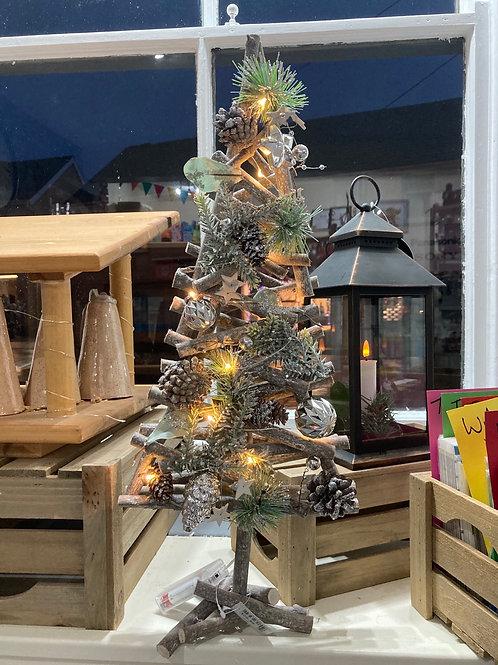 Twig tree with lights  50cm